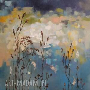 obrazy łąka jesienna -obraz akrylowy