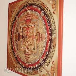 obraz kalachakra mandala 2 - płótno