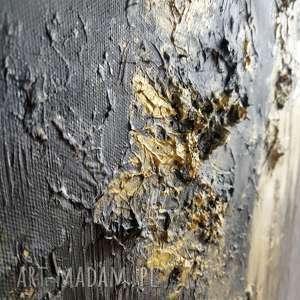 srebrne obraz bogato zdobiony kopalnia złota - do salonu