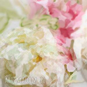 atrakcyjne kwiaty obrazy na płótnie piwonie 90