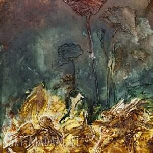 abstrakcja obrazy kwiaty