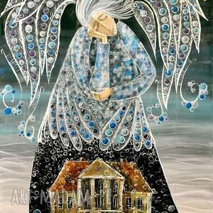 intrygujące anioł łomnica dom wdowy 70x100