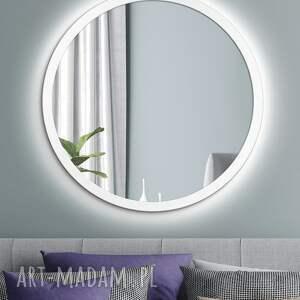 srebrne lustra lustro scandinavia bold led