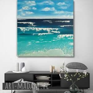 """""""morze"""" -abstrakcyjny obraz ręcznie"""