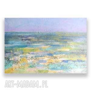 awangardowe obraz morze olejny, ręcznie