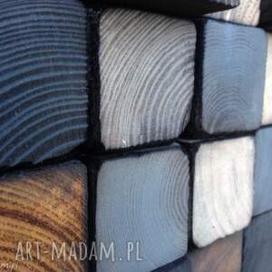 mozaika drewniana na