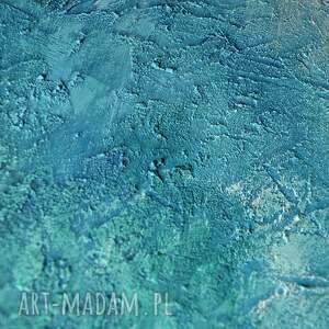 obraz obrazy turkusowe nebula u4, abstrakcja, nowoczesny