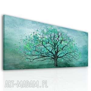 szare drzewo nowoczesny obraz drukowany