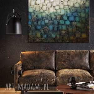 hand-made obrazy obrazy-do-salonu obraz abstrakcyjny