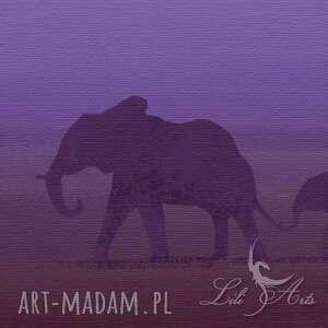 obraz - afryka 3 - płótno - natura