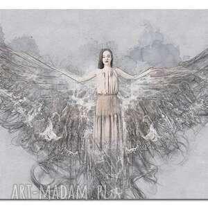 modne anioł obraz xxl 2 -120x70cm design