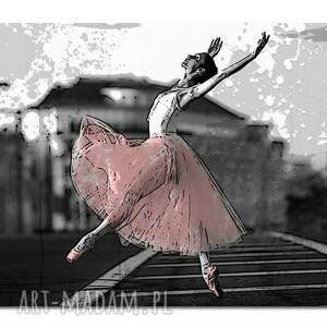 niepowtarzalne obrazy obraz xxl baletnica 1 -120x70cm
