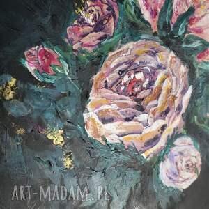 czarne obrazy salonu obraz do - bogato zdobiony