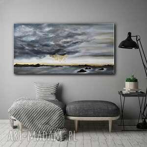 obrazy obraz do salonu - ręcznie malowany