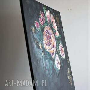 obrazy salon obraz do salonu - bogato zdobiony
