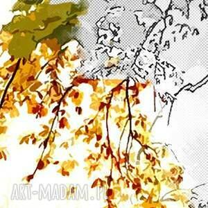 nietypowe obraz drzewo 44 - 120x70cm