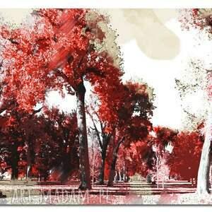 trendy obrazy obraz xxl drzewo 25 - 120x70cm na