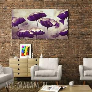 gustowne obraz duży kwiaty 3 - 120x70cm