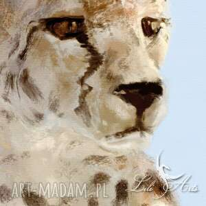 unikalne obraz - gepard - płótno