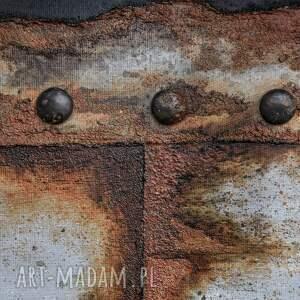 awangardowe rdza obraz imitujący pordzewiałą