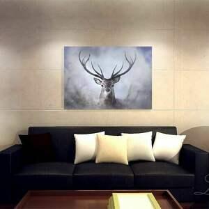 brązowe jeleń obraz - skandynawski