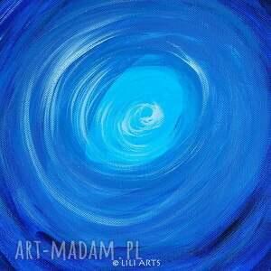 oryginalne obrazy akrylowy obraz medytacyjny - strażnik snów