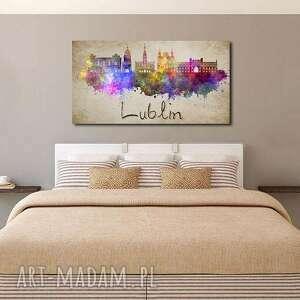obrazy obraz xxl miasto lublin 1 -120x70cm