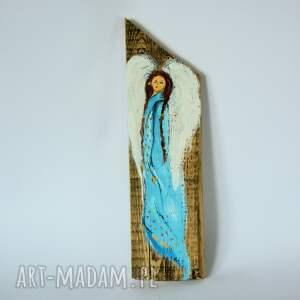 obraz na drewnie - anioł