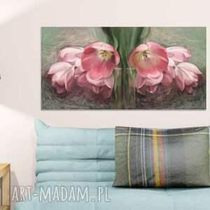 intrygujące obrazy na płótnie obraz na 100 x 50, kwiaty