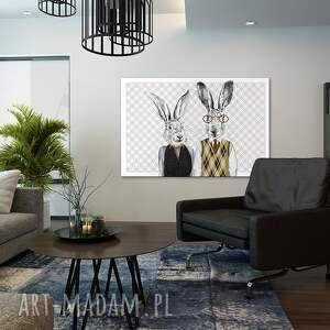 białe obrazy obraz na płótnie - 120x80cm państwo