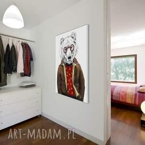 białe obrazy obraz na płótnie - 60x80cm