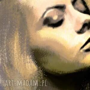 obrazy kobieta obraz na płótnie młoda