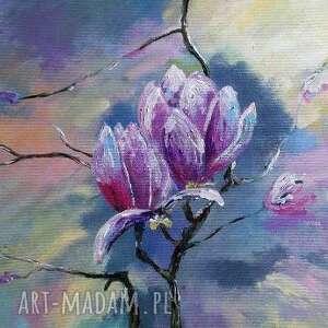 obraz na płótnie - magnolie 40/30