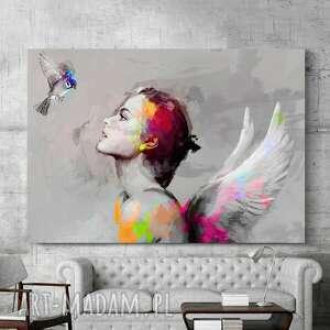 obraz na płótnie & bird 100x70