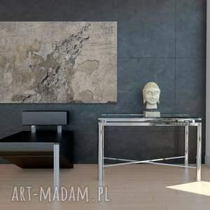 abstrakcja obraz na płótnie - beton