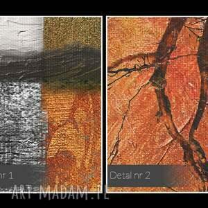 gustowne abstrakcja obraz na płótnie - drzewo elegancki