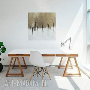 beżowe abstrakcja design: piękny obraz o nowoczesnym