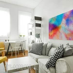 niepowtarzalne abstrakcja obraz na płótnie - kolory