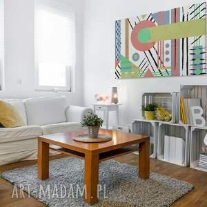 hand-made obrazy abstrakcja obraz na płótnie -