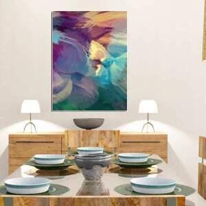 abstrakcje obrazy obraz na płótnie, 60 x