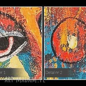postacie obraz na płótnie - abstrakcja