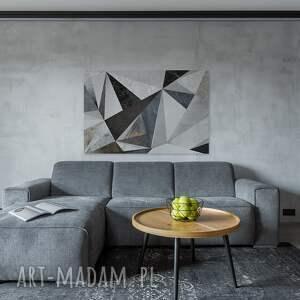 szare beton obraz na płótnie - marmur
