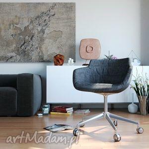 efektowne beton obraz na płótnie - abstrakcja