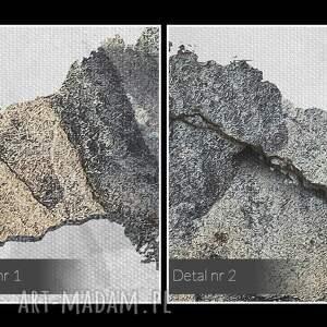 urokliwe obrazy beton obraz na płótnie - mapa świata