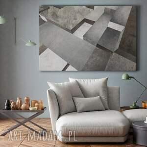beton obraz na płótnie - bloki