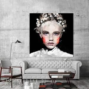 nietypowe obrazy obraz na płótnie i 100x100cm