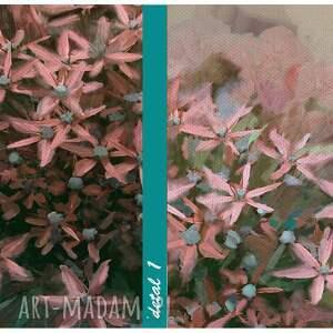 Obraz na płótnie 120x50 - Kwiaty czosnku 0326 wysyłka w 24h czosnki