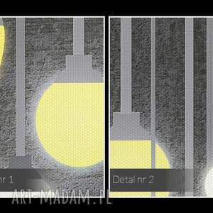 dekoracja obraz na płótnie - światło