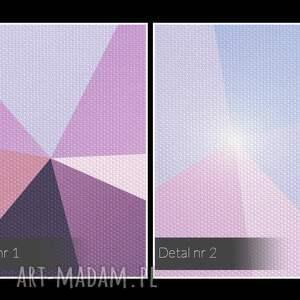 nietuzinkowe obrazy dekoracja obraz na płótnie - kryształ