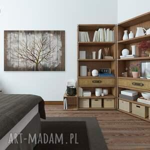 deski obraz na płótnie - drzewo drewno